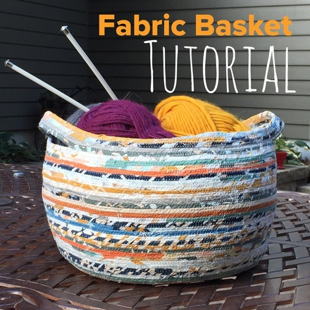 Fabric Basket Tutorial by Stitch Supply Co